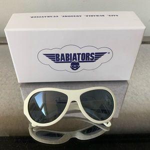 Babiators Accessories - White Babiators Age 0-3